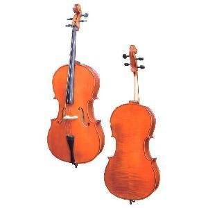 D Z Strad Student Cello Model 101 w/ Case & Bow (1/16-4/4)