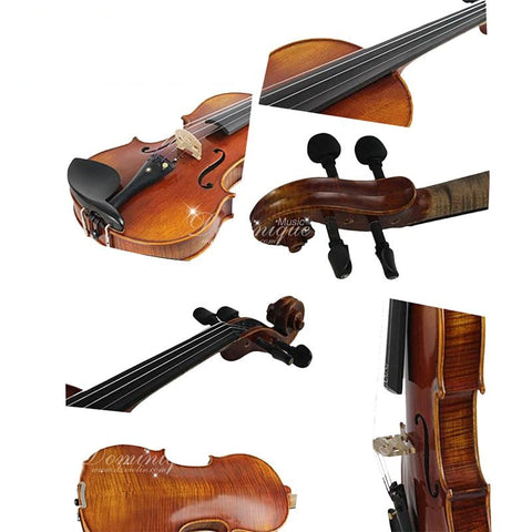 D Z Strad Viola - Model 120 with case and bow