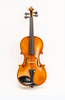 D Z Strad Violin - Model 500 - Light Antique Finish with Dominant Strings, Case, Bow and Rosin (Full Size - 4/4)