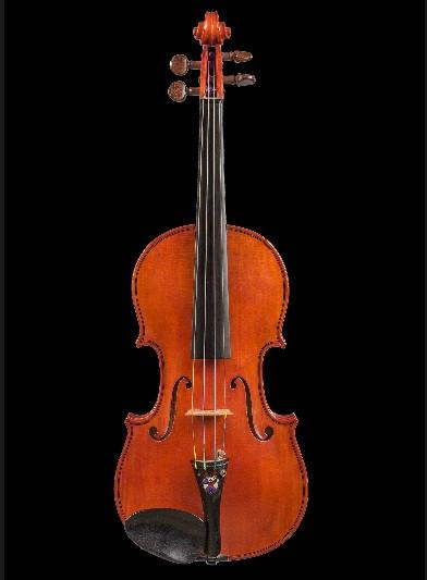 Fine Violin Made by World-Renowned Violin Dealer Jacques Francais