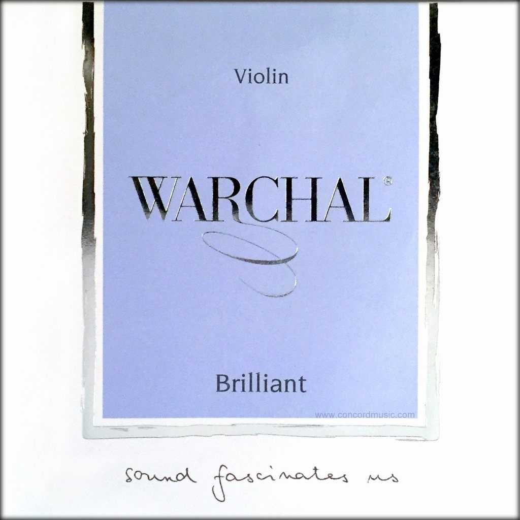 Warchal Brilliant Violin Strings (Full Set)