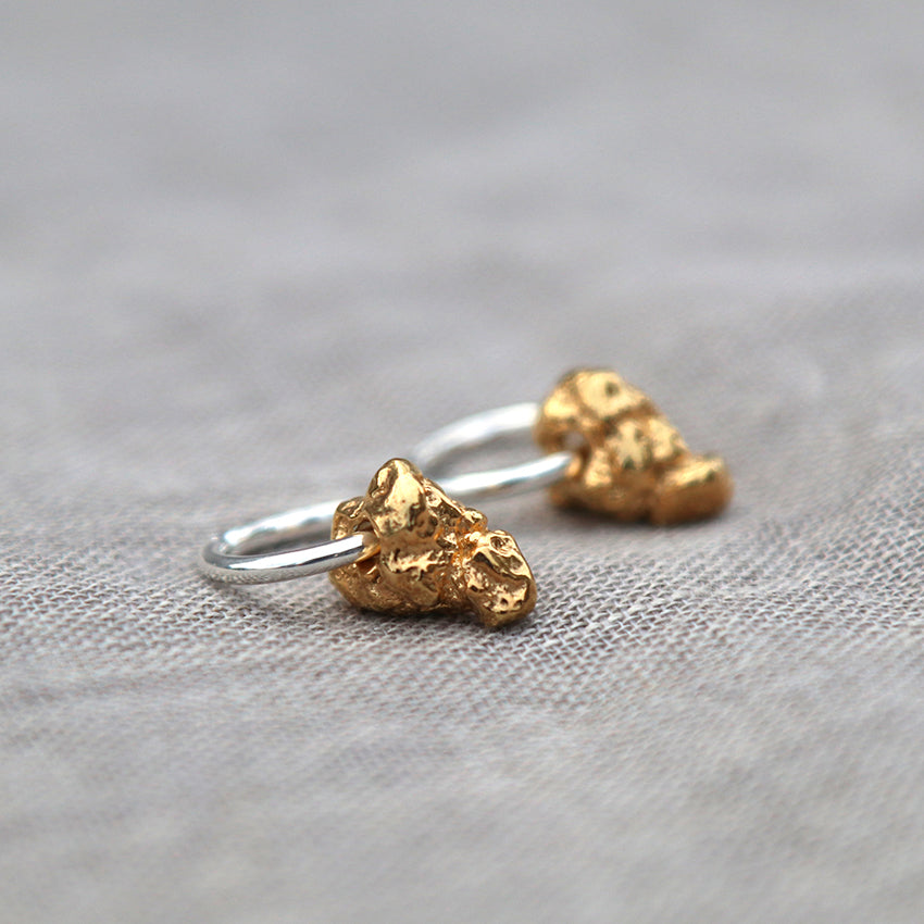 Nellie Earrings - Gold Plated