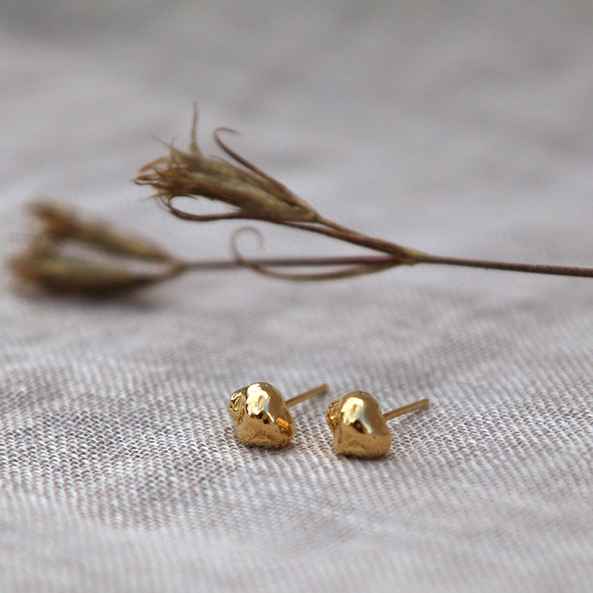 Nina Studs - Gold Plated