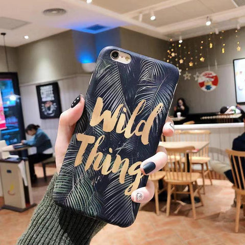Wild Thing Case (Iphone Oppo Huawei Samsung) - Thrifty Project - Wholesale - Las Piñas, Philippines