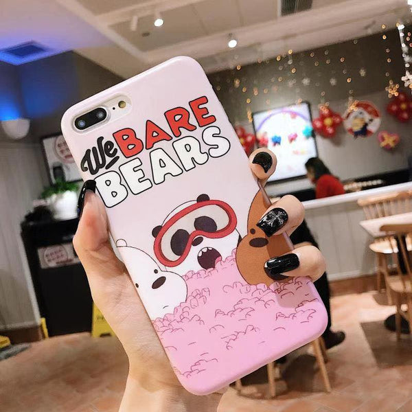We Bare Bears Case (Iphone Oppo Huawei VIvo Samsung) - Thrifty Project - Wholesale - Las Piñas, Philippines