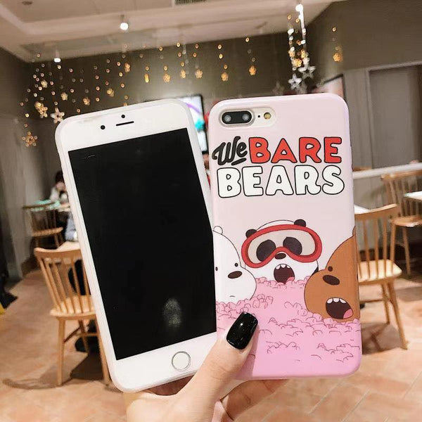 We Bare Bears Case (Iphone Oppo Huawei VIvo Samsung)
