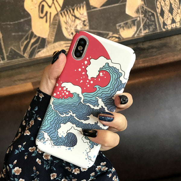 Great Wave Case (Iphone)