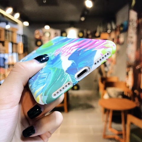 Leaf Case (Iphone Oppo Huawei Samsung) - Thrifty Project - Wholesale - Las Piñas, Philippines