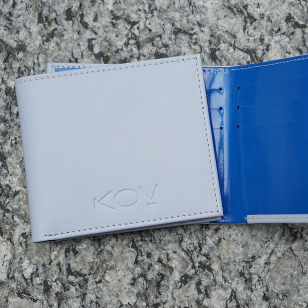 kov slim wallet ocean conservation leather best seller