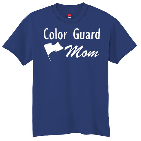 Color Guard Mom T-Shirt