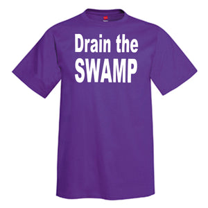 Drain The Swamp T-Shirt  ---  President Donald Trump