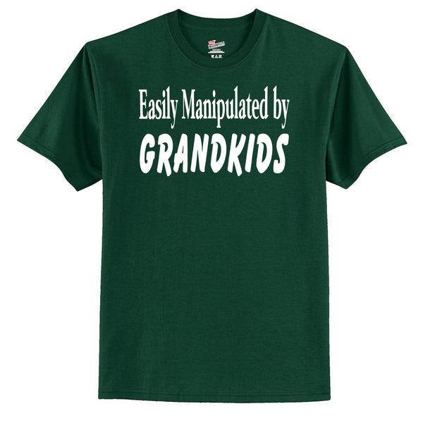 Easily Manipulated By Grandkids T-Shirt