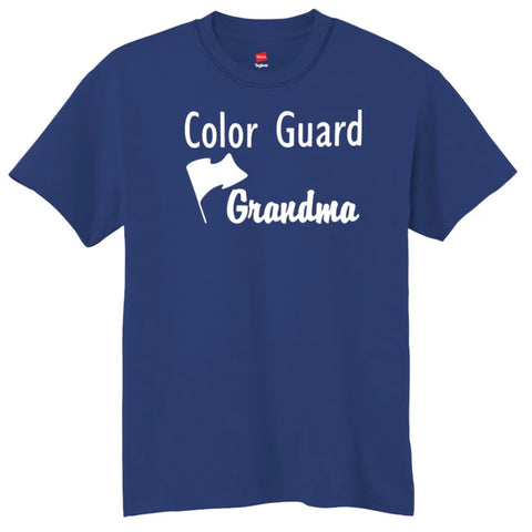 Color Guard Grandma T-Shirt
