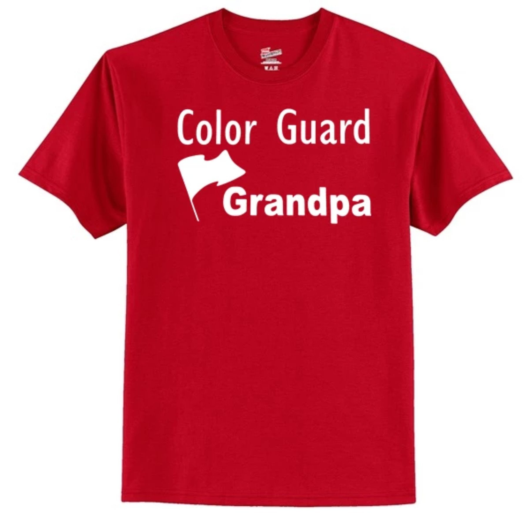 Color Guard Grandpa T-Shirt