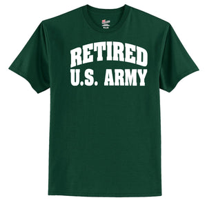 Retired U.S. Army  T-Shirt