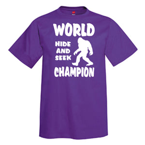 WORLD HIDE AND SEEK CHAMPION T-Shirt