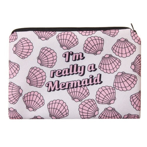 I'M REALLY A MERMAID NIXIE BAG - TUSI Cosmetics