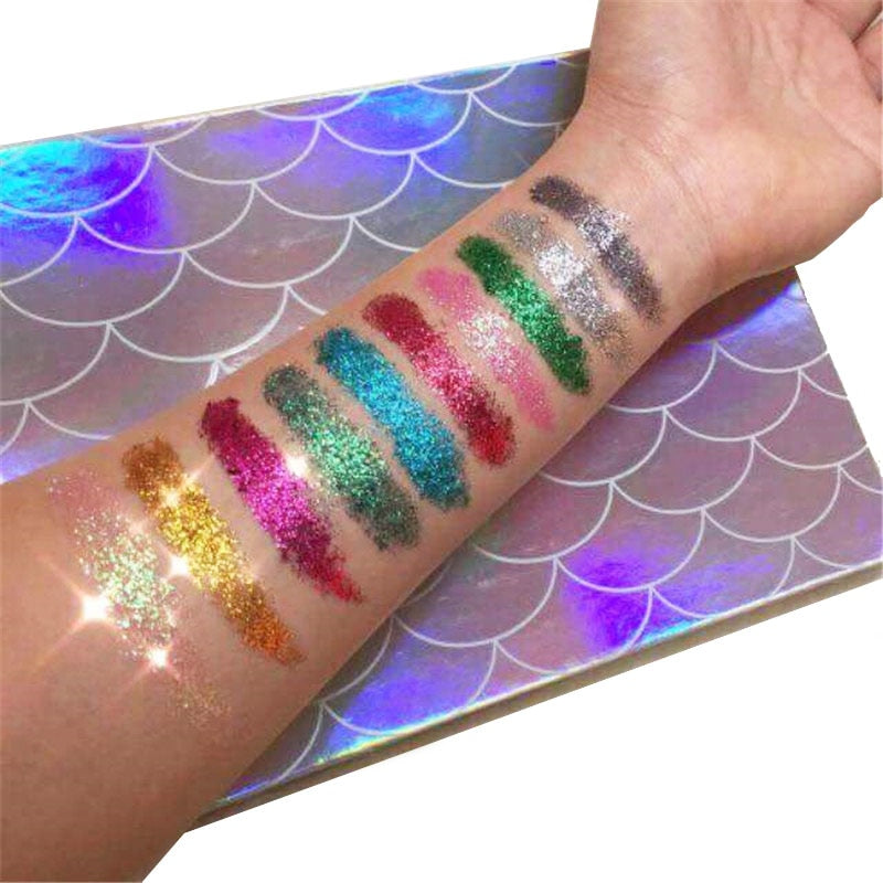 MERMAID GLITTER PALETTE - TUSI Cosmetics