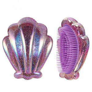 NIXIE SHELL HAIR BRUSH - TUSI Cosmetics