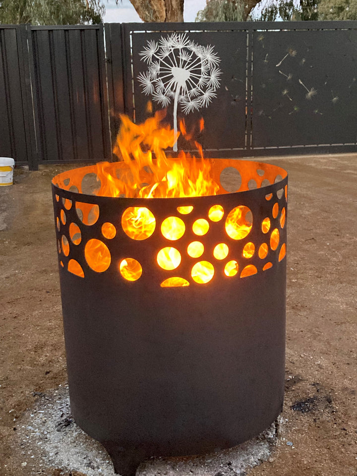 FIRE PITS & SCULPTURES