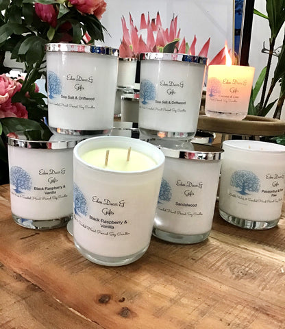 *Double* Wick & Scented Eden Soy Candles