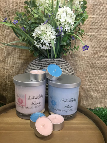 Eden Baby Shower Candles