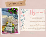 MOTHERS DAY RELAXATION PACKS
