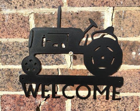 Tractor Welcome