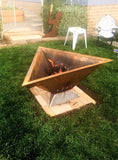 Triangular Fire Pits