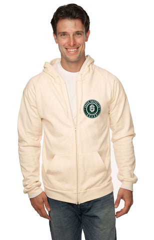 Organic Full Zip Hooded Sweatshirt