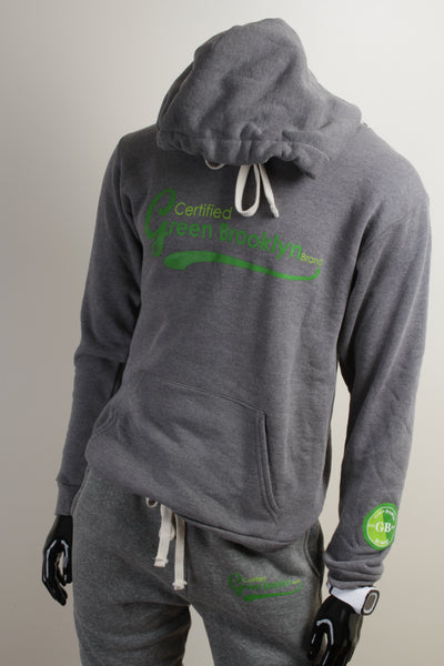 Green Brooklyn Hoodies