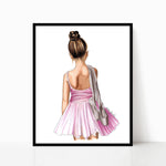 Little Ballerina Print