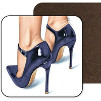 Purple Heels Coaster