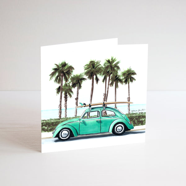 VW Car Card