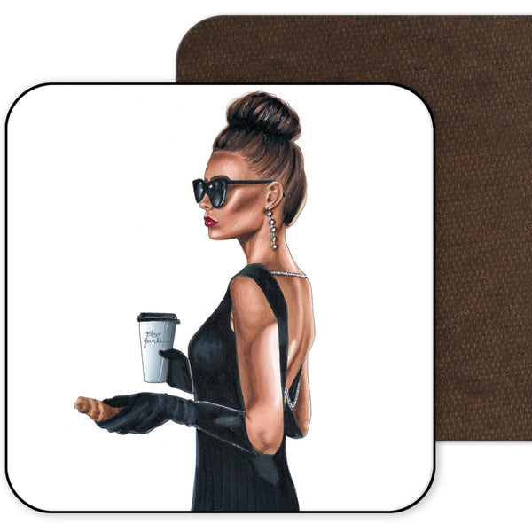 Modern Day Audrey Coaster