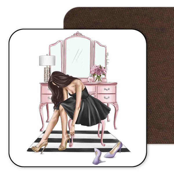 Little Black Dress Coaster