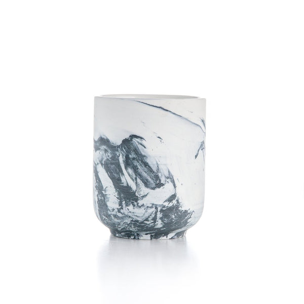 Marbled Swirl Soy Candle
