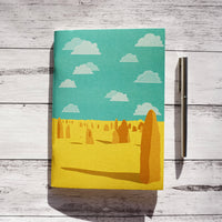 Pinnacles - A5 Notebook