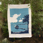 Boat House Tea Towel