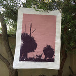 Grass Trees Tea Towel