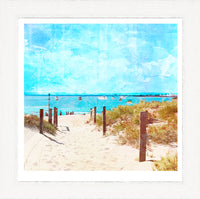 Summer Days at South Beach, Fremantle Art Print