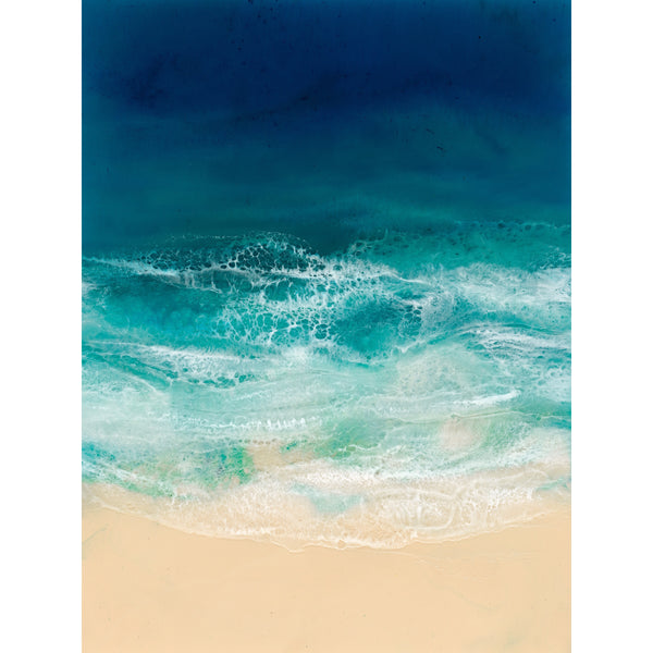 Resin Art Print - Brighton Beach