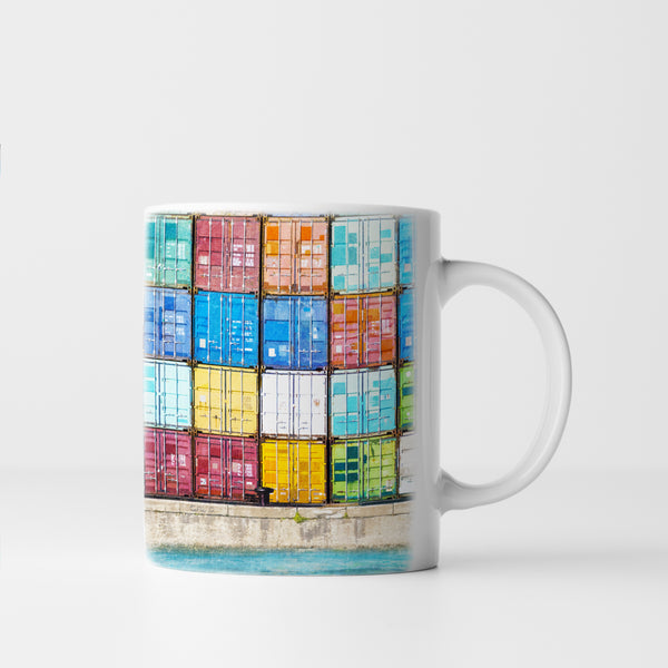Fremantle Shipping Containers, Ceramic Mug
