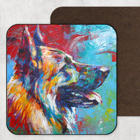 German Shepherd Coaster