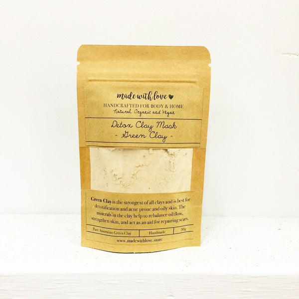 Detox Clay Mask 'Green Clay' 50g
