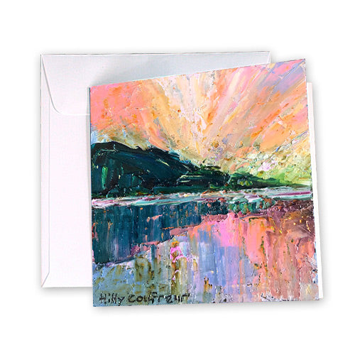 Greeting Card Summer Sunset