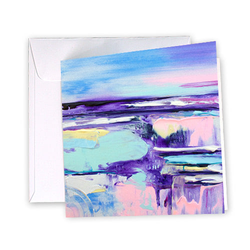 Greeting Card Pastel Breeze