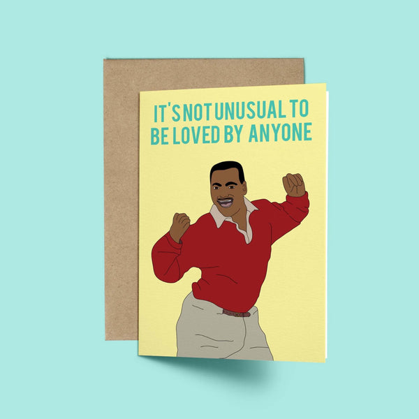 Carlton, It's not Unusual Card