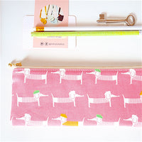 Zipper Pouch Long