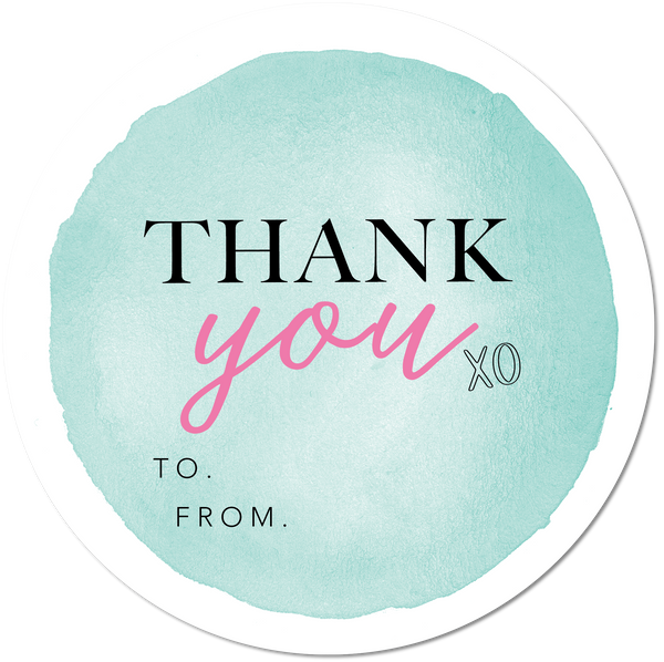 Mint Thank You - Set of 6